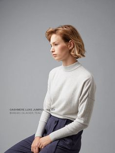 Women's Winter Blues #Cashmere #Knitwear #Warm #Sweater #Jumper #Womens #Fashion #WildSouth #NewZealand