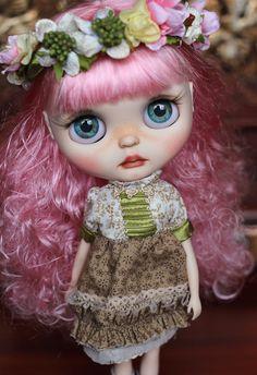 Muñeca customizada Blythe por beyourdolls en Etsy