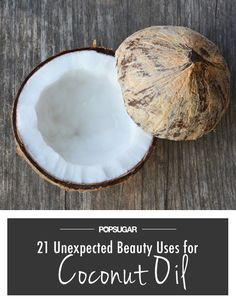 Think of all the money you can save by just using coconut oil in your beauty routine.