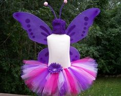 Shop for tutu on Etsy, the place to express your creativity through the buying and selling of handmade and vintage goods. Toddler Costumes, Cute Costumes, Halloween Costumes For Kids, Halloween Crafts, Fairy Costumes, Butterfly Birthday Party, Little Pony Birthday Party, Diy Tutu, Halloween Birthday