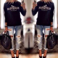 #ShareIG Look com o moletonzinho Zara disponível aqui!!❤️❤️❤️