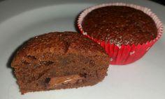 Sandy's Kitchendreams: Schoko-Muffins mit Schokoladen-Kern