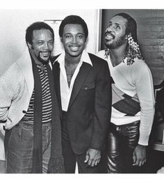 Quincy Jones, George Benson, Stevie Wonder - all without Music Mood, Soul Music, My Music, Music Life, Temptation Movie, Funk Bands, Quincy Jones, Old School Music, Aretha Franklin