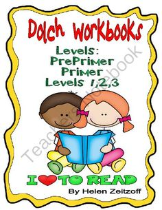 Practice Workbooks! Dolch Words- All Levels! Enter for your chance to win 1 of 5.  Practice Workbooks! Dolch Sight Words (186 pages) from Essential Reading Skills on TeachersNotebook.com (Ends on on 3-7-2014)  Five workbooks- one for each level of Dolch Words- Pre-Primer-Primer-Levels 1-2-3 Lessons introduce 4-5 words at a time. Exercises provide lots of practice to read the sight words in meaningful exercises.