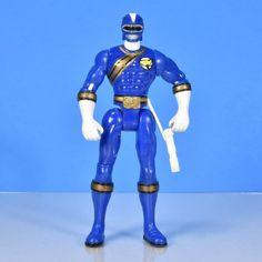 Blue Ranger Power Rangers Wild Force 2003 No accessories