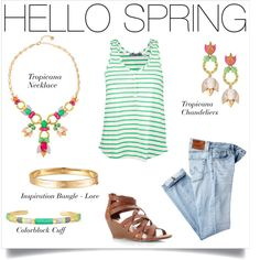 Yes, we know most people have a snow day... but we can dream, right? | Spring style via Stella & Dot