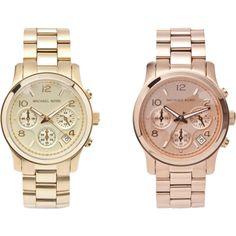 Michael Kors - gold vs rose gold