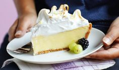 Lemon Meringue Custard Pie Is A Winner