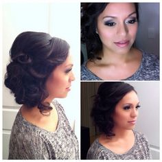 Gorgeous wedding hair idea!