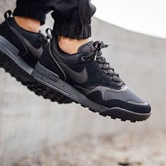 The Air Odyssey has been transformed with a rugged style sole with influences from the Air Pegasus 89. @titoloshop has the kicks available. #eukicksmag #kicks #sneakers #nike #airodyssey #airodysseyenvision #black #instakicks #sneakernews