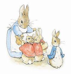 Beatrix Potter illustrations