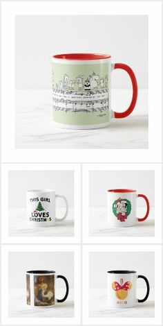 ff975510f Holiday Christmas #Mugs Collection | Christmas #gift | funny mugs | Coffee  Cups