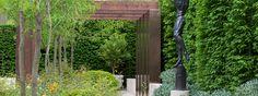 The Laurent-Perrier Garden, Ulf Nordjfell, Chelsea 2013.  Stunning travertine