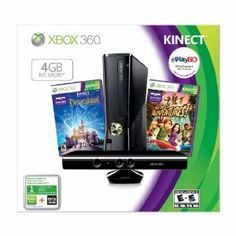 Xbox 360 4GB Kinect Holiday Value Bundle for $269 (Compare to $384.98)