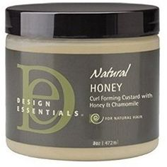 Design Essentials Natural Honey CurlForming Custard With Honey & Chamomile 8 Ounce