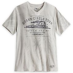 Twenty Eight & Main Grand Circle Tour Tee for Adults - Disney Parks Railroad | Disney StoreTwenty Eight & Main Grand Circle Tour Tee for Adults - Disney Parks Railroad - Tour the perimeter of our Magic Kingdoms by steam power in this soft tee souvenir of the Disneyland and Walt Disney World Railroads, part of our railin' Twenty Eight & Main Collection. All aboard!