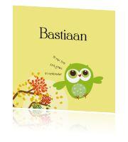 Grappige uitnodiging kraamfeest jongen met kuiken - Leintjes:http://kaartjesparadijs.nl/winkel/grappige-uitnodiging-kraamfeest-jongen-met-kuiken-leintjes-2/