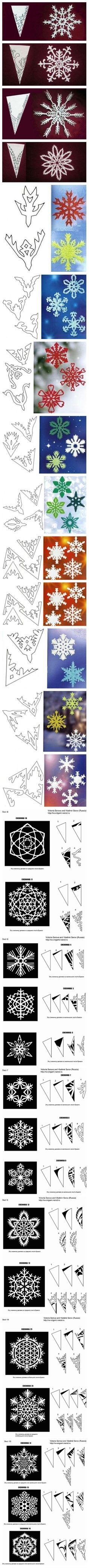 Time to cut out snowflakes!