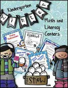 This set of 10 winter-themed centers includes the following math and literacy activities:* Polar Bear Reading Party  This reading board game comes with 3 sets of cards (sight words;  sight word sentences; and sentences with blends, digraphs, and long vowels), a 2-page game board, directions, game pieces, 2 full-color recording pages to laminate, and 4 black line pages.  * Snow Fort Sort  In this activity, students will sort short vowel sound words according to word families. $8