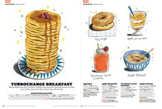 various editorial illustrations | Felicita Sala