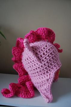 My Little Pony Crochet Beanie. Oh my! My little sister would LOVE this!