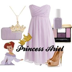 """""""Princess Ariel"""" by amarie104 on Polyvore"""