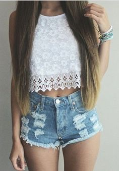 #summer #fashion / lace