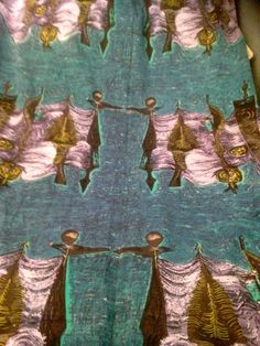 VINTAGE FABRIC -  HEALS  Voyagers  by Gordon Dent
