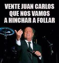 El rey abdica y se va con julio Rey, Humor, Memes, Funny, Fictional Characters, Laughter, Cheer, Meme, Jokes