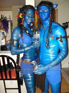 Real Life Avatars Halloween Couple Costumes