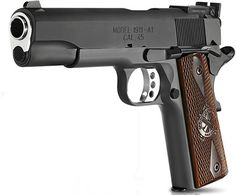 Knocked the Springfield 1911 .45 off the list today.  It's a lovely gun.