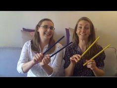 Ideas with Rhythm Sticks!!