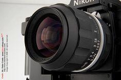 NASAニッコール-NC 1.4 / 35ミリメートルとニコンF3 NASA 250