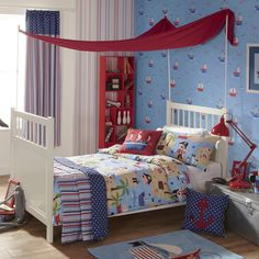 NEW IN! iLiv Kids Pirates Life for Me Printed Duvet Sets - Nautical