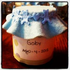 Recuerdo para BABY SHOWER