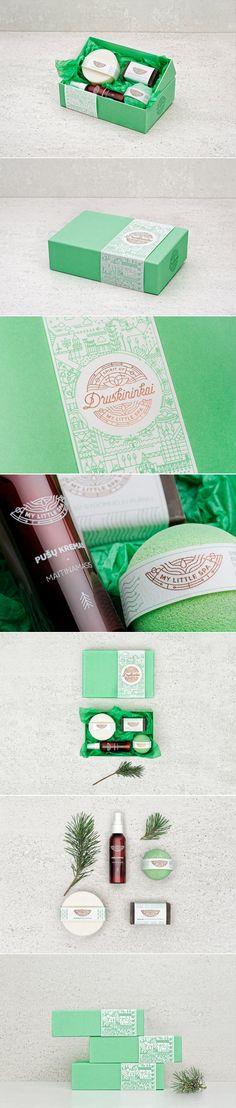 Treat Yo-Self With MY LITTLE SPA — The Dieline - Branding & Packaging Design