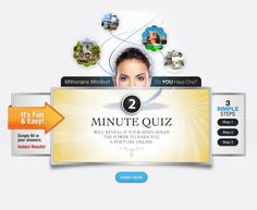 Take this fun quiz and see if you have a millionaire mindset :) xo