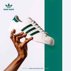 Adidas Superstar Deluxe Vintage Green: Shop now!  Link: http://www.sneakerbaas.com/nl/mens/superstar-vintage-deluxe-green.html  #adidas #superstar #deluxe #vintage #sneakerbaas #baasbovenbaas