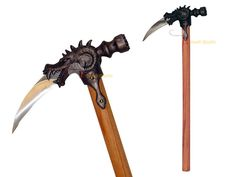 scorch warhammer(a draconic version of the one handed real life weapon)