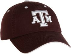 Texas A&M Aggies Adult Adjustable Hat (maroon and white) by Top of the World. $15.56. Secondary mark on the woven flag label on the back. cotton. Primary 3D logo on the front. Team color adjustable washed cotton hat. NCAA Texas A&M Aggies Adult Adjustable Hat. Save 14% Off!