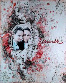 MMW Anything Mixed Media Goes - with optional twist Wedding Scrapbook, My Scrapbook, February Challenge, Mixed Media Canvas, Hello Everyone, Challenges, Photo And Video, Scrapbooks, Art