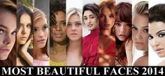 100 Most Beautiful Faces 2014...