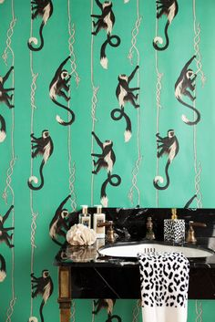 Very excited to share this new wallpaper collection I've work on for House of Hackney