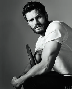 Fifty Shades of Grey Star Jamie Dornan Tells Elle: I Tie Up Women a Lot....SAY WHAT!!! He could tie me up any day... :-P