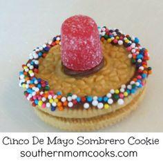 Sombrero Cookies #SauzaCinco