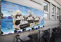In True Black Sabbath Fashion, the Band's New Street Ad Destroys Everything Around It
