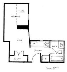 200 Sq Ft Studio Apt Awesomeness Design Floor Plans Studio And Interiors