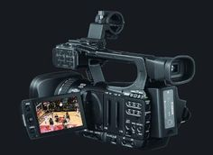 Why would anyone pay more for a professional grade camcorder? The key is in the word 'professional.' If you want to make money from your video efforts, you'll need the features a professional video camera has to offer.