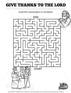 Exodus 2 Baby Moses Bible Mazes: Lead baby Moses through