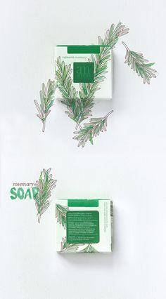 Los #Jabones naturales de #aromaMediterranea son muy coquetos || #packaging #diseño#naturaleza #savon#soaps #cosmeticanatural